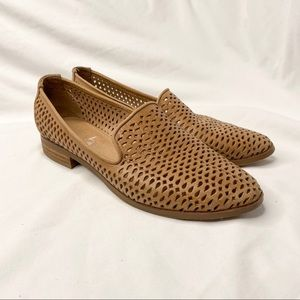 Wittner Leather Loafers Tan Brown